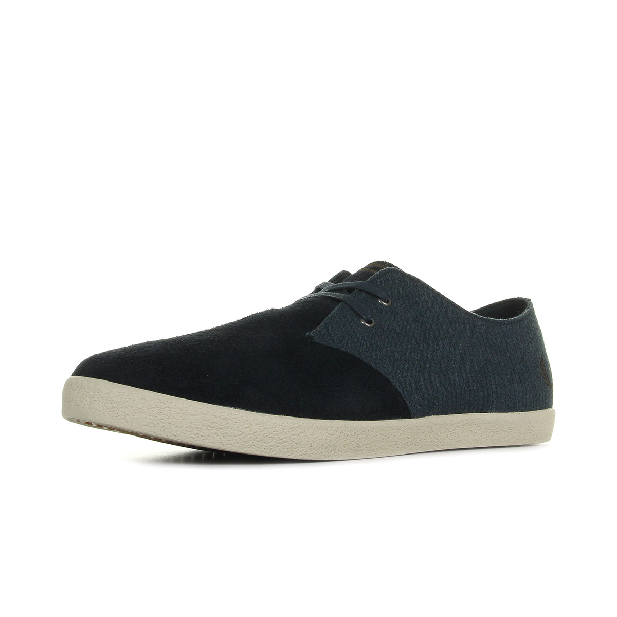 Baskets Fred Perry Byron Low Suede Navy Falcon Grey os1tdy9