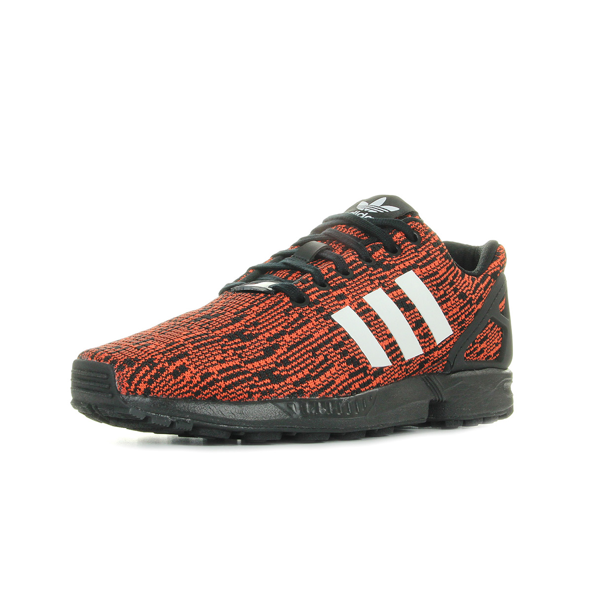 ... Chaussures-Baskets-adidas-homme-Zx-Flux-taille-Rouge-