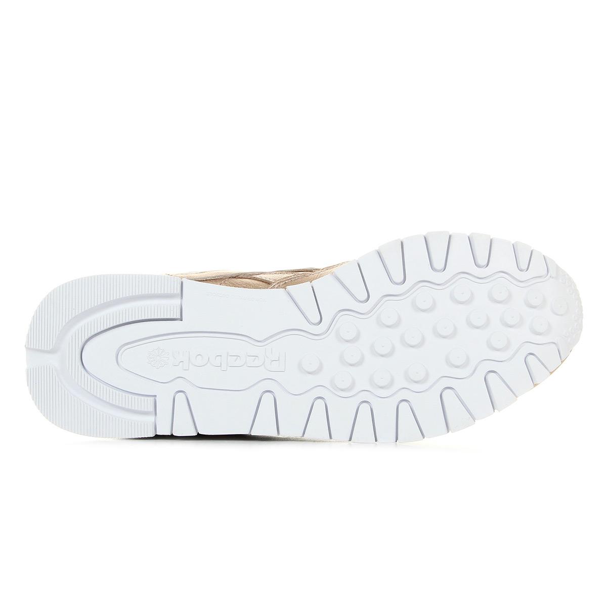 Reebok Cl Leather BS7897, Baskets mode femme