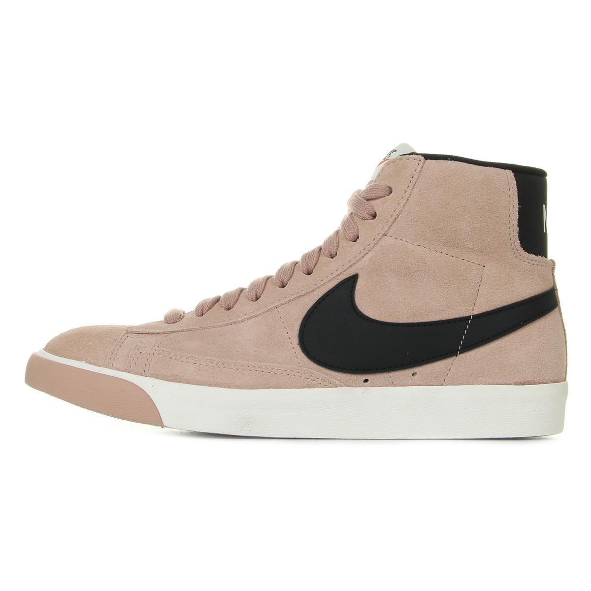 Nike WMNS Blazer Mid Vintage Suede 917862601, Baskets mode femme