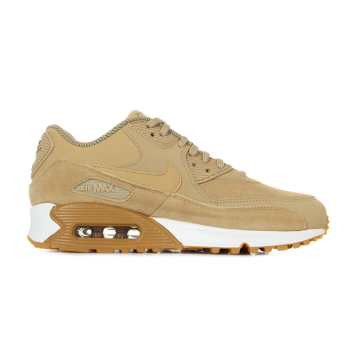 Nike WMNS Air Max 90 SE Mushroom 881105200, Baskets mode
