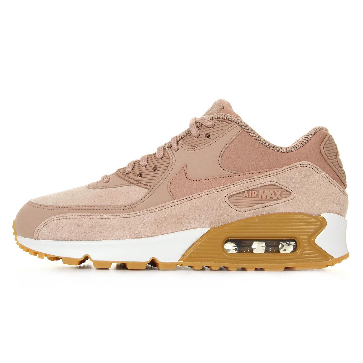 Nike WMNS Air Max 90 SE Particle Pink 881105601, Baskets mode femme