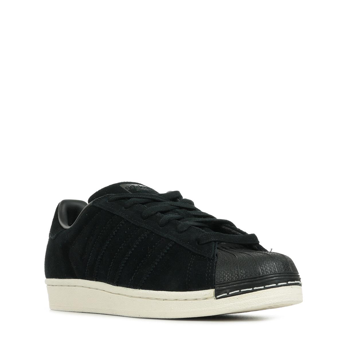 4caa05725b2 Faux En Ligne adidas Superstar Core Black BZ0201 Baskets mode ...