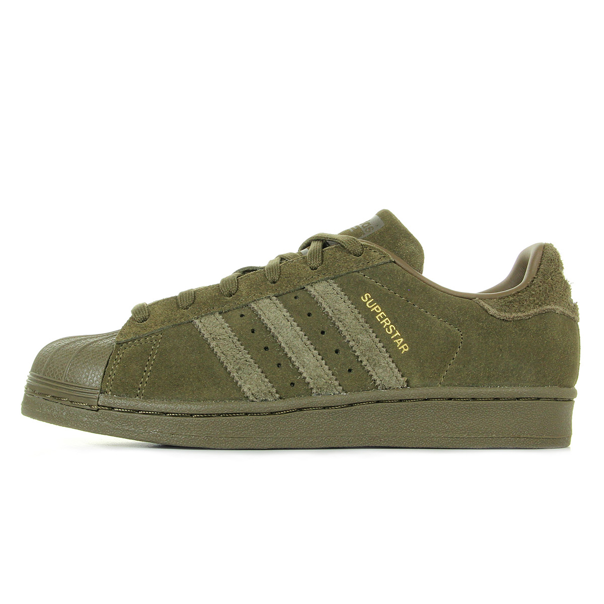 adidas Superstar Trace Olive CG3739, Baskets mode homme