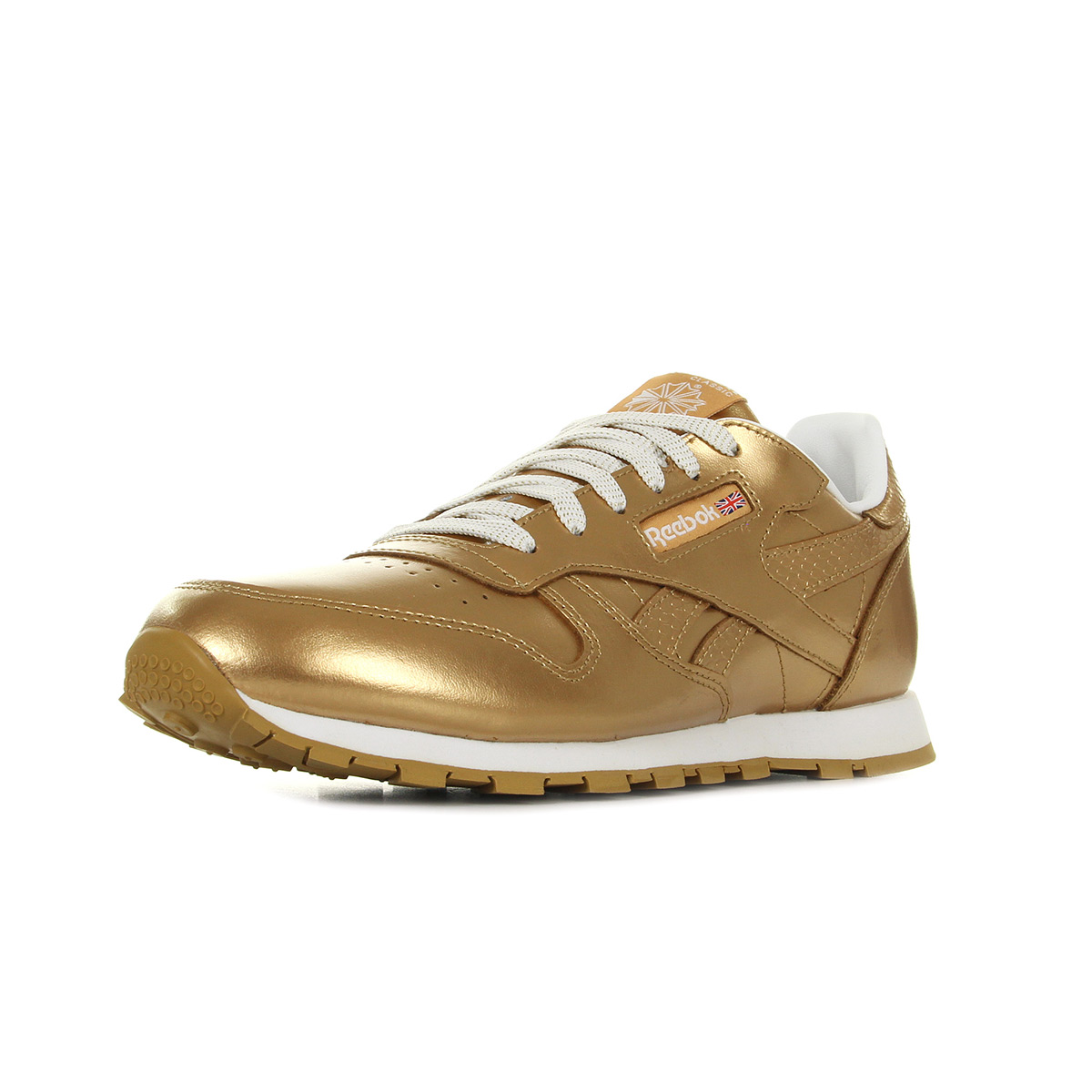 b3a18733a1f3b Reebok Classic Leather Metallic Gold BS8944