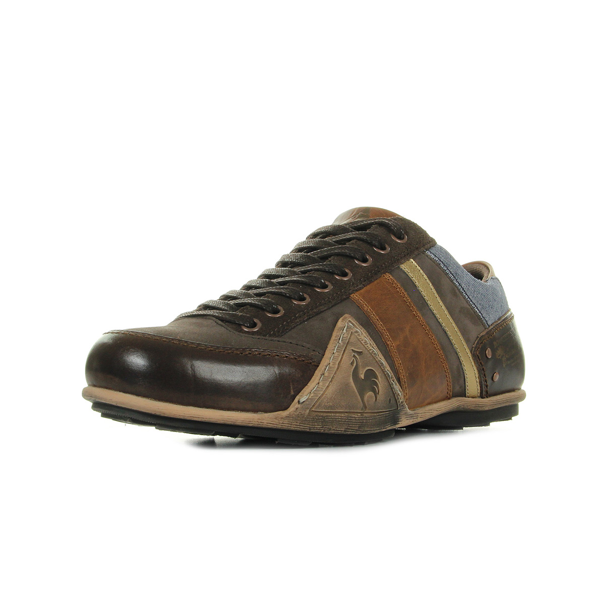 Le Sportif Mode Turin Homme Baskets Chambray Leather Coq 1810569 rrwq5FZ