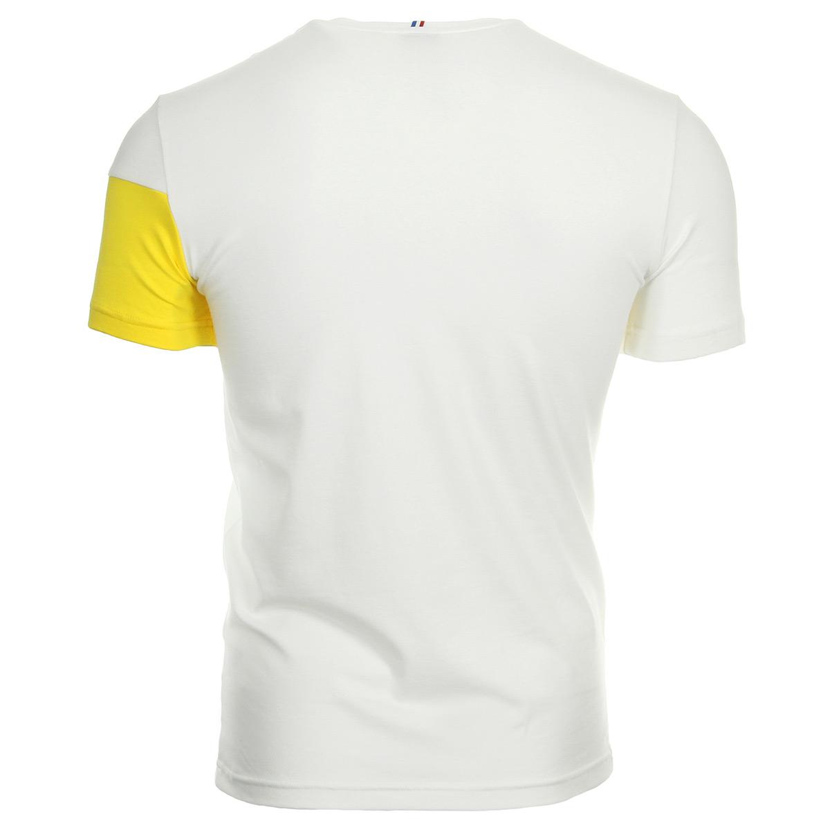 Le Coq Sportif ESS SAISON Tee SS N°1 M new optical whit 1810714, T-Shirts homme