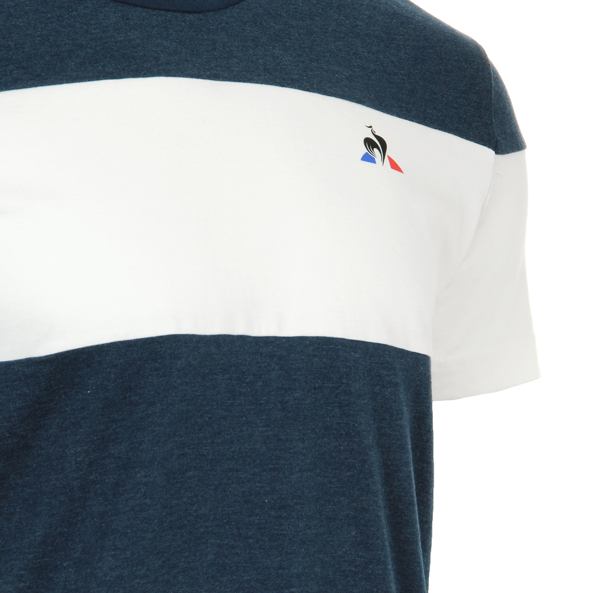 Le Coq Sportif TRI Tee SS N°4dress blues ST/n.optica 1810846, T-Shirts homme