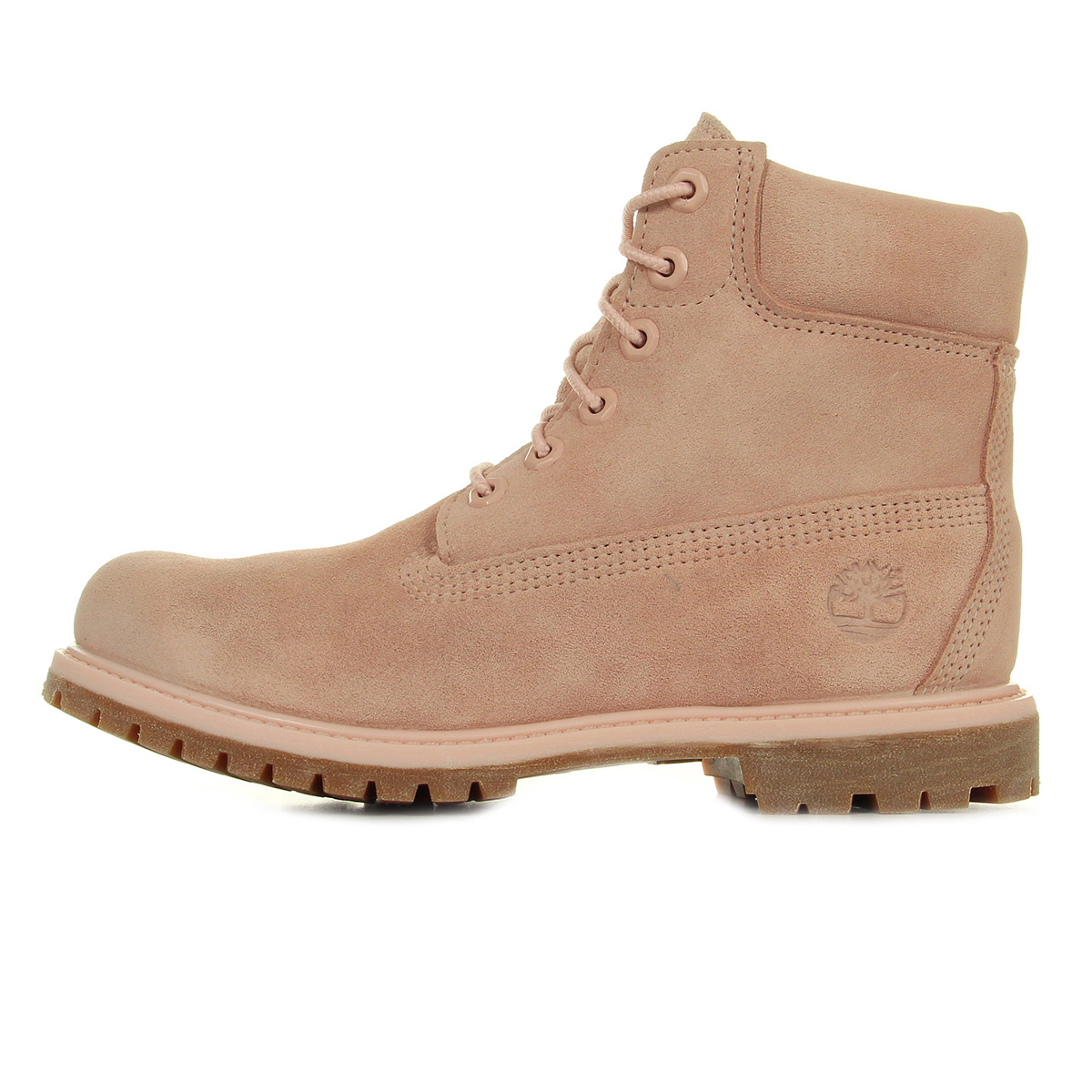 Timberland 6 In Premium Suede WP Cameo Rose CA1P7C, Boots femme
