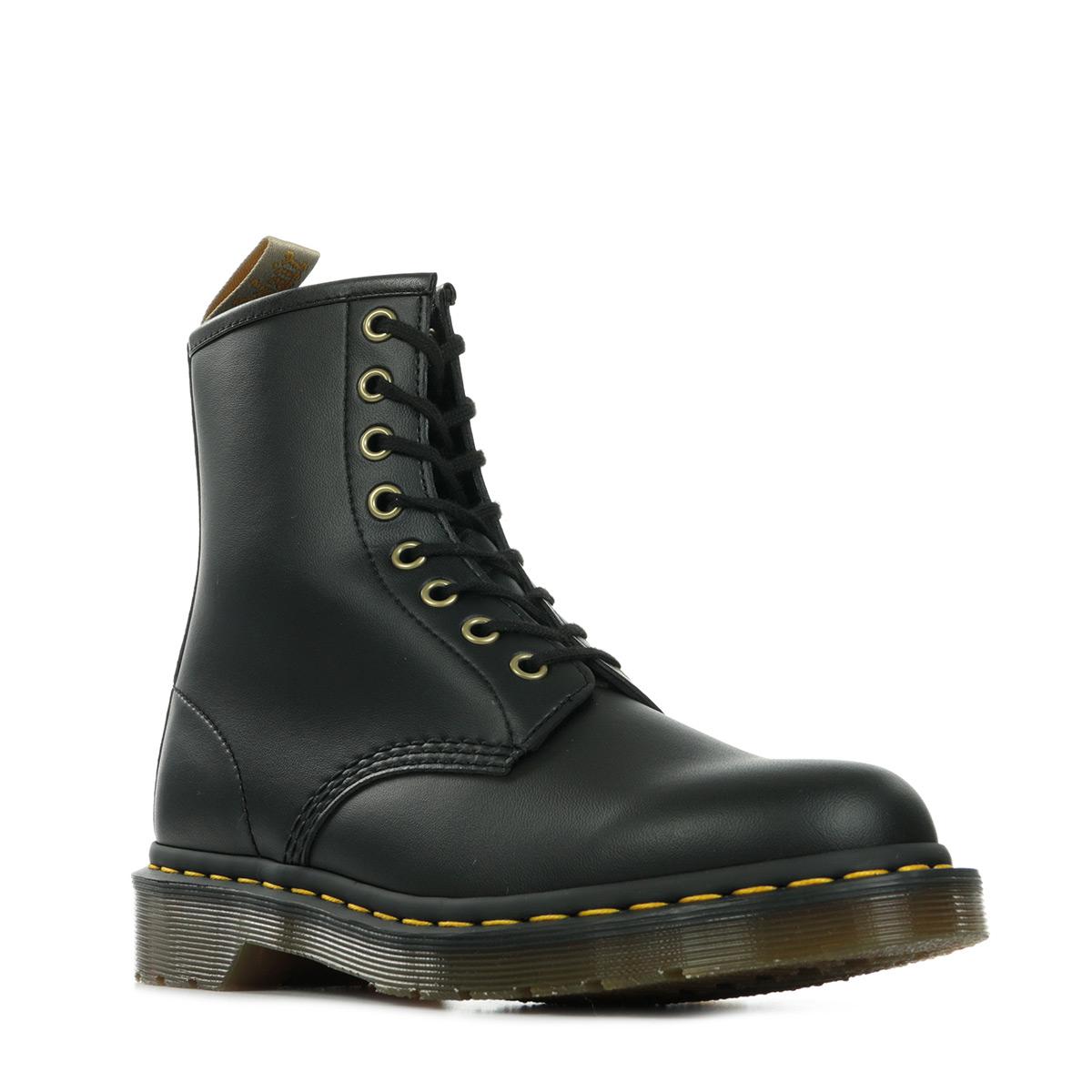 Dr. Martens 1460 Vegan Black Felix Rub Off 14045001, Boots