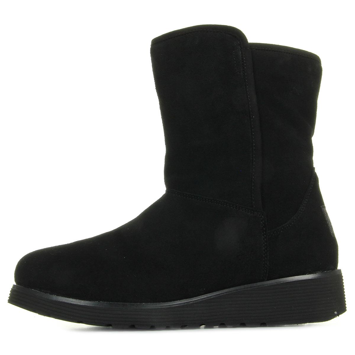 Skechers Bunny Slope Black 49813BLK, Boots femme