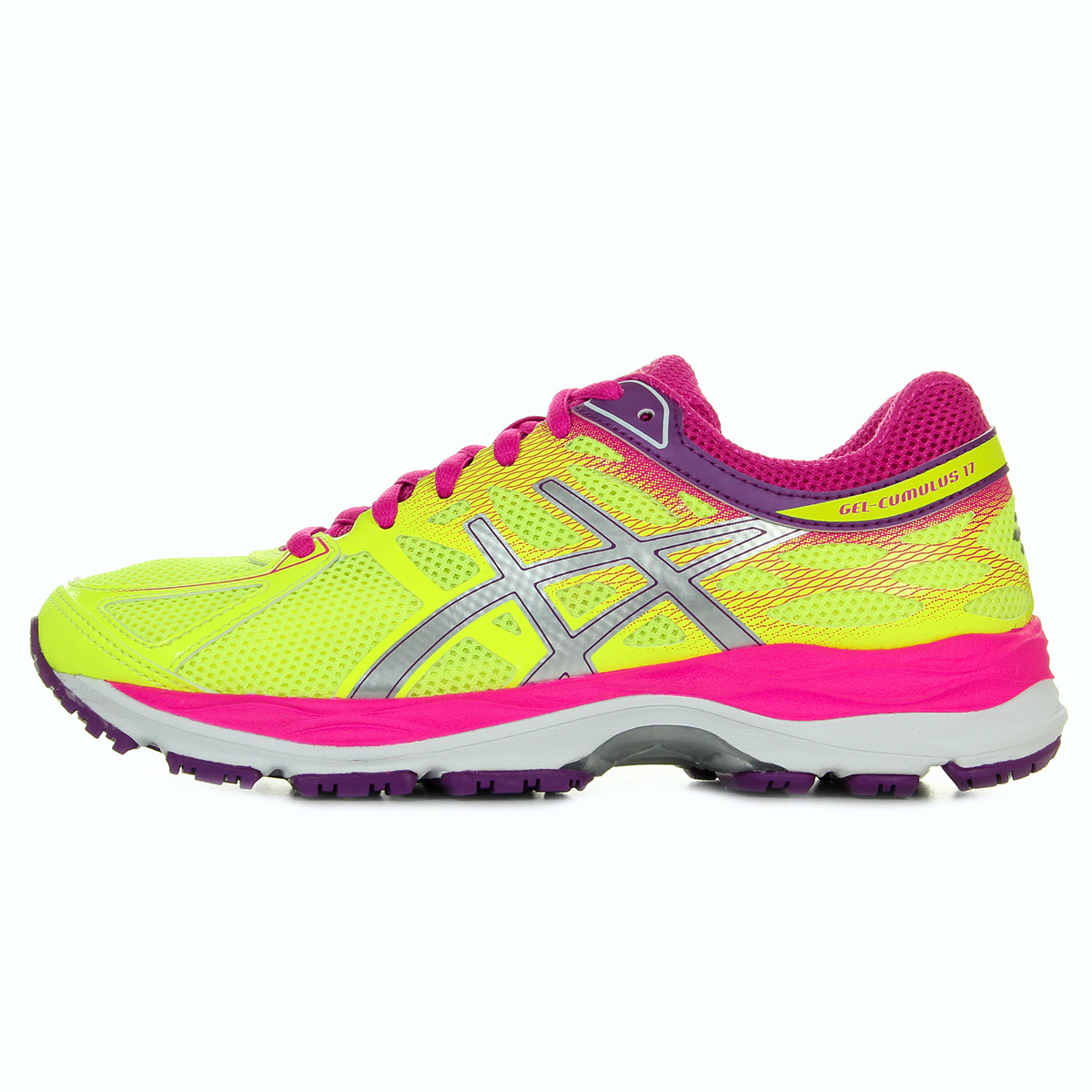 Asics Gel Cumulus 17 Flash Yellow C562N0736, Running femme