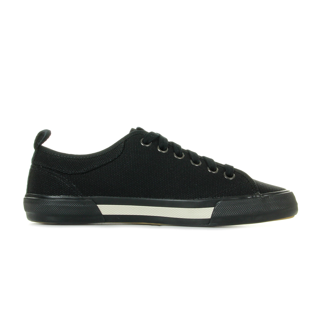 Baskets Fred Perry Horton Canvas Blk C91JpAX2J