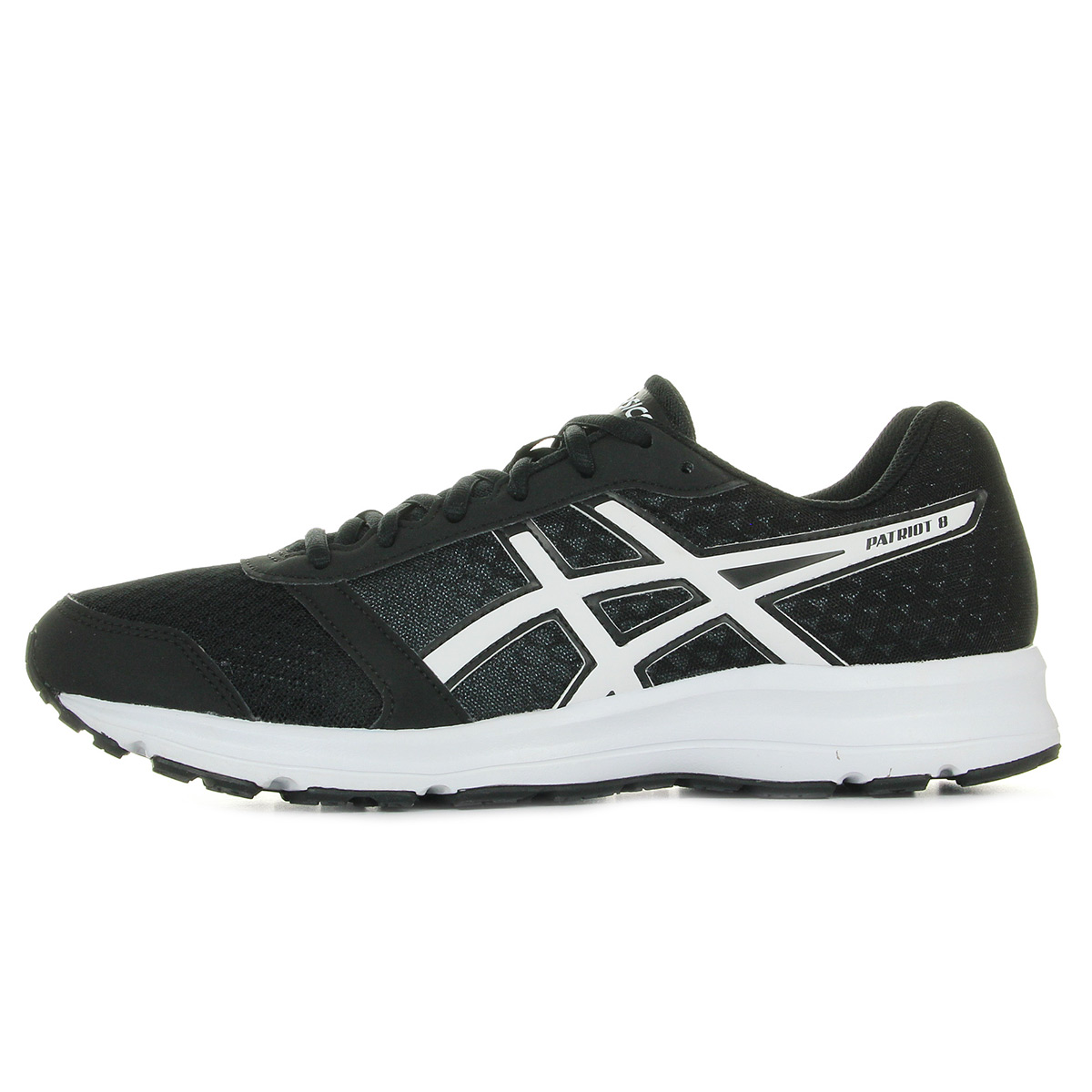 Asics Patriot 8 Black/White/White T619N9001, Running homme