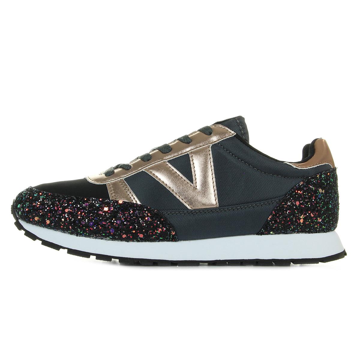 Victoria 141103 Negro 141103NEGRO, Baskets mode femme