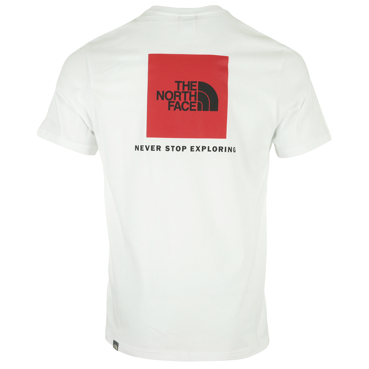 The North Face S/S Red Box Tee White T92TX2FN4, T-Shirts