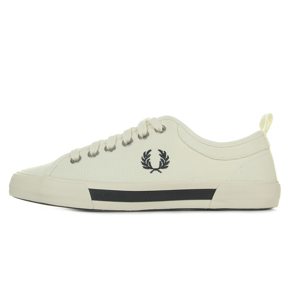 Fred Perry Horton Canvas Ecru B3190560, Baskets mode homme