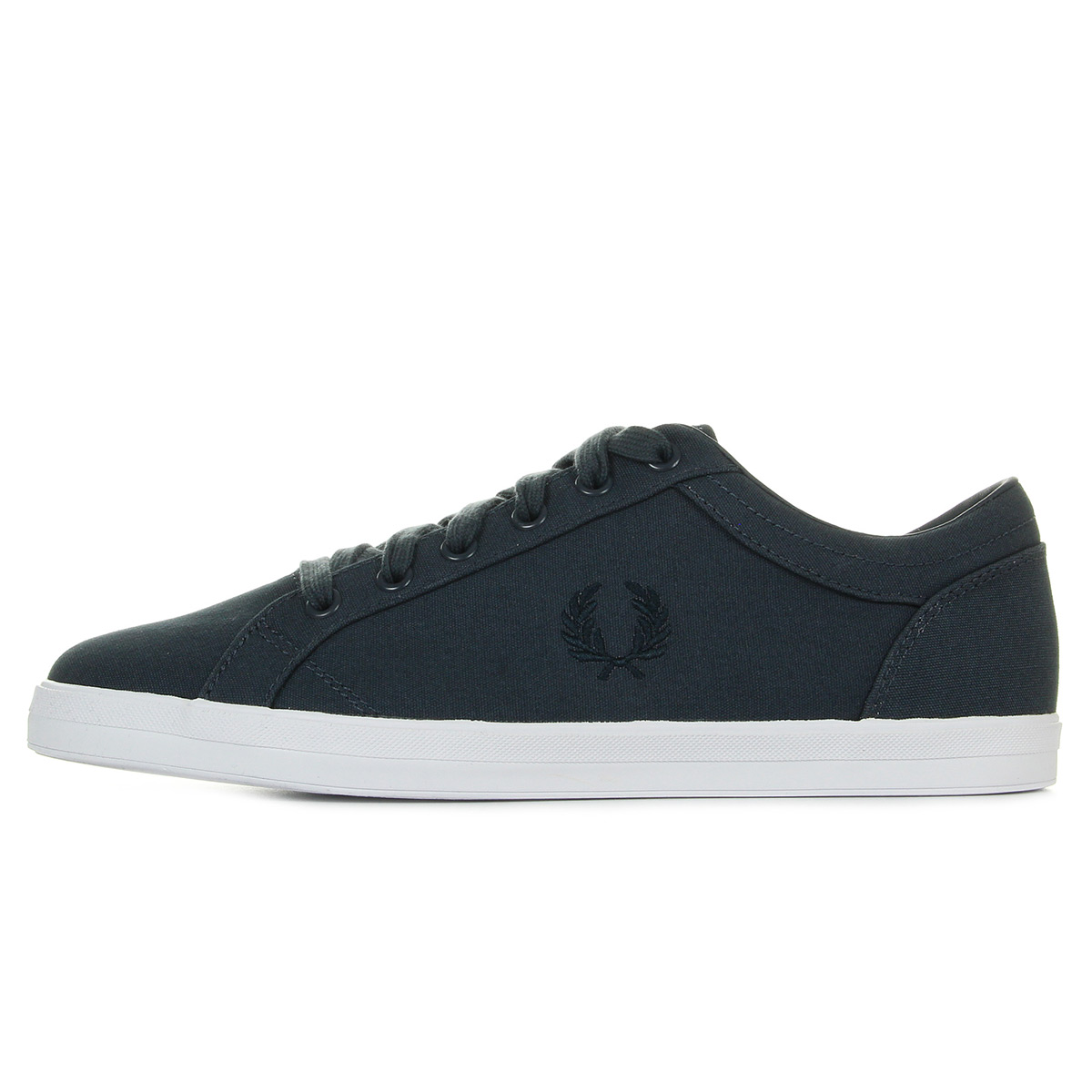 Baskets Fred Perry Baseline Canvas Graphite RDVIEVx6a