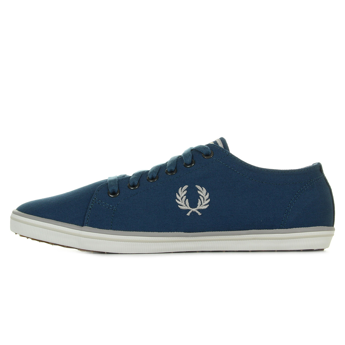 Baskets Fred Perry Kingston Twill Carbon Blue mp6T1LXb
