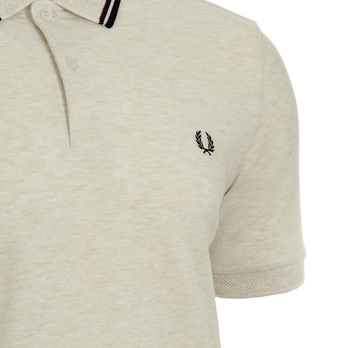 Fred Perry Textured Collar Pique Shirt M3605F90, Polos homme