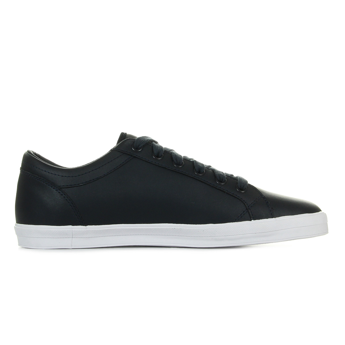 Fred Perry Baseline Leather Navy B3058608, Baskets mode homme