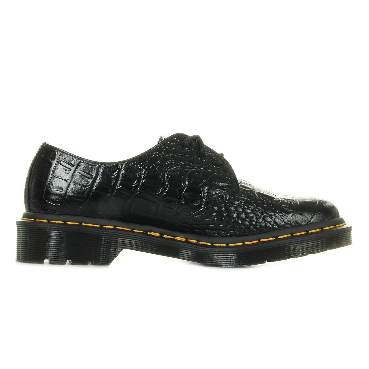 Dr. Martens 1461 Croc Black 23550001, Ville femme
