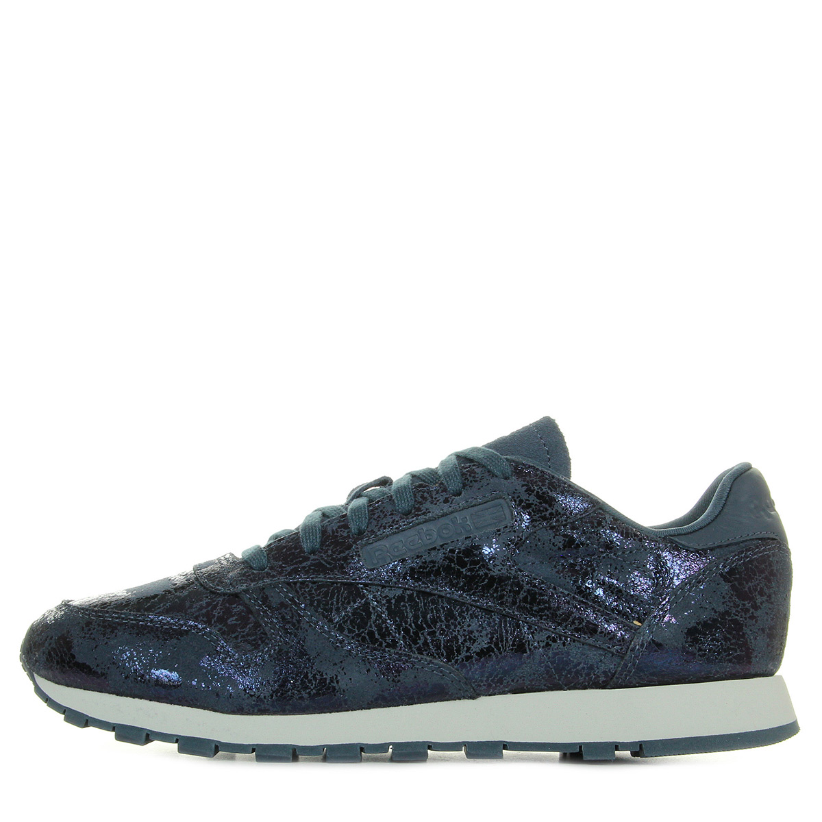 Leather Reebok Femme Bs6784Baskets Mode Classic Textural SpUVGqzM
