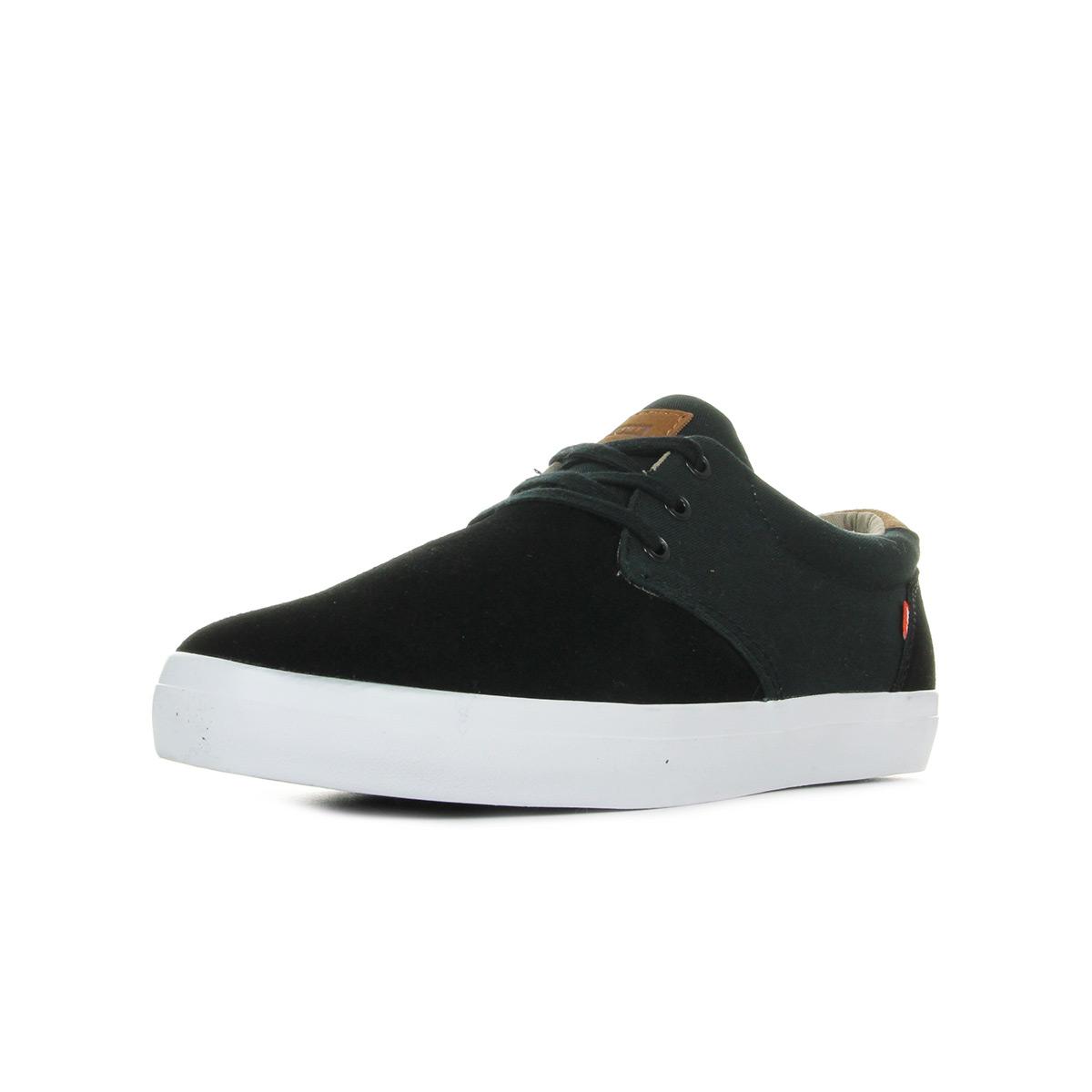 Globe Willow, Chaussures de Skateboard Homme, Noir (Black/Woodsmoke Brown 0), 43 EU