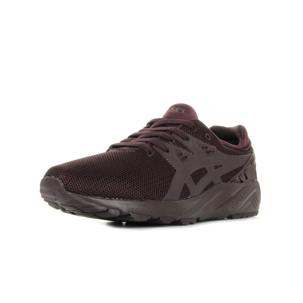 Chaussures Baskets Asics homme Gel Kayano Trainer EVO Rioja Red taille Violet