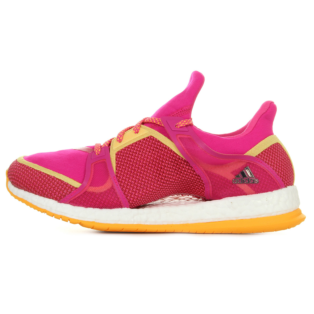 Chaussures Baskets adidas femme Pure Boost X TR taille Rose Synthétique Lacets YPHY8
