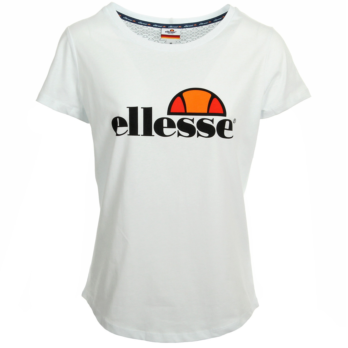 ellesse tee shirt oversize femme col rond uni blanc 1074nblanc t shirts femme. Black Bedroom Furniture Sets. Home Design Ideas