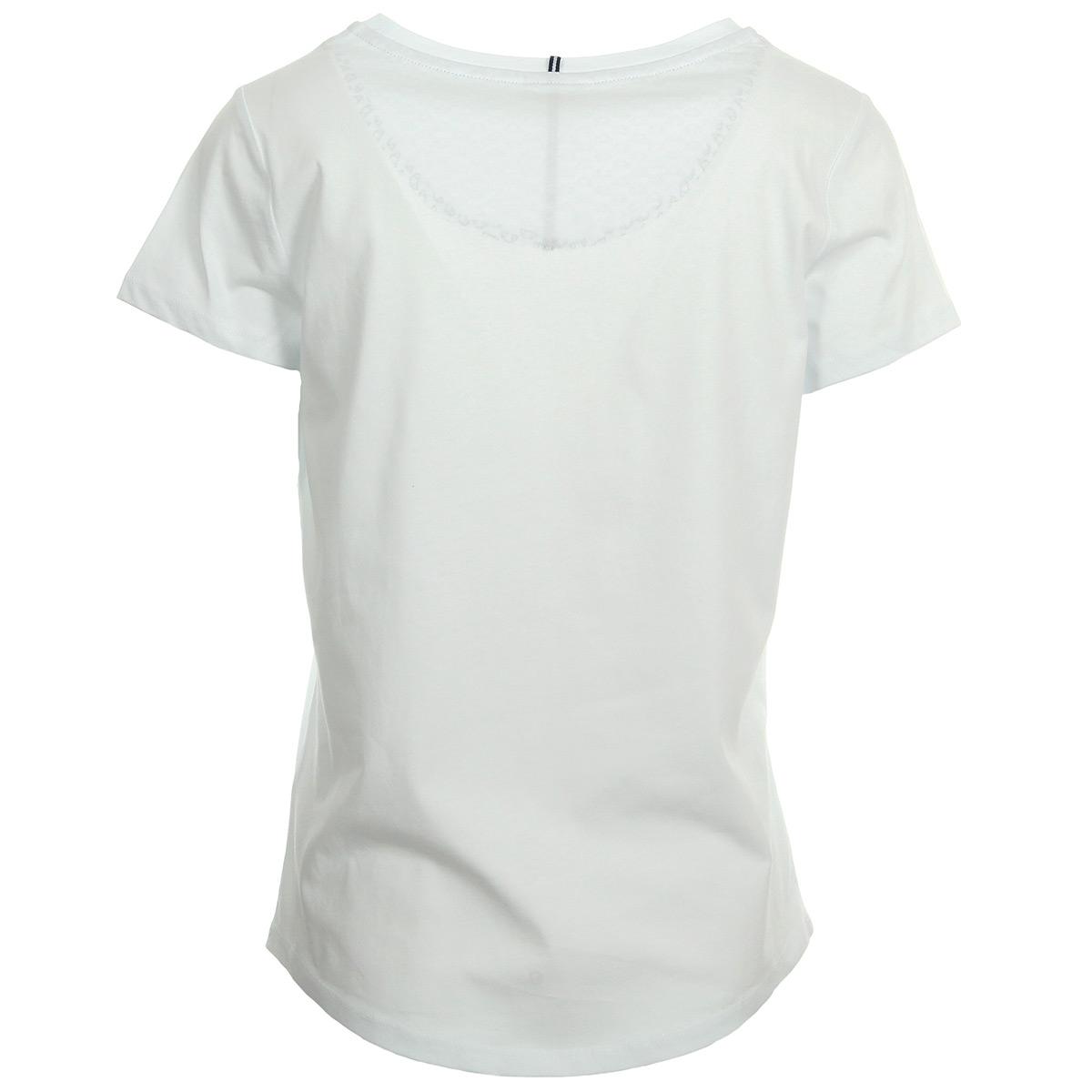 Ellesse Tee-Shirt Oversize Femme Col Rond Uni Blanc 1074NBLANC, T-Shirts femme