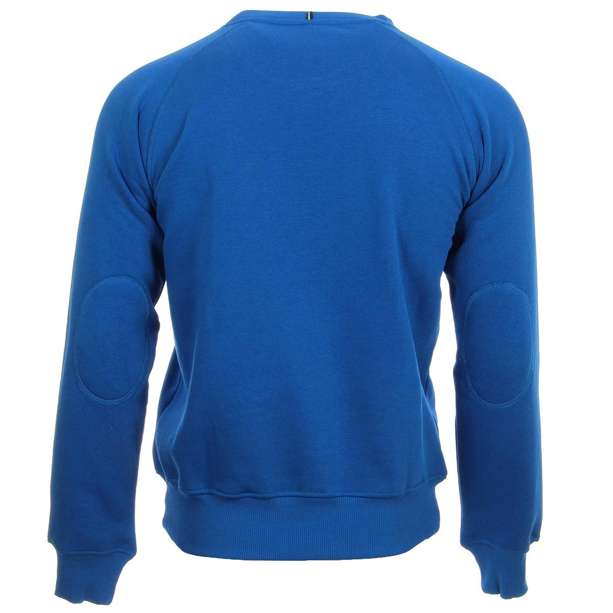Ellesse EH Sws Col Rond Uni Bleu 1032NBLEU, Sweats homme