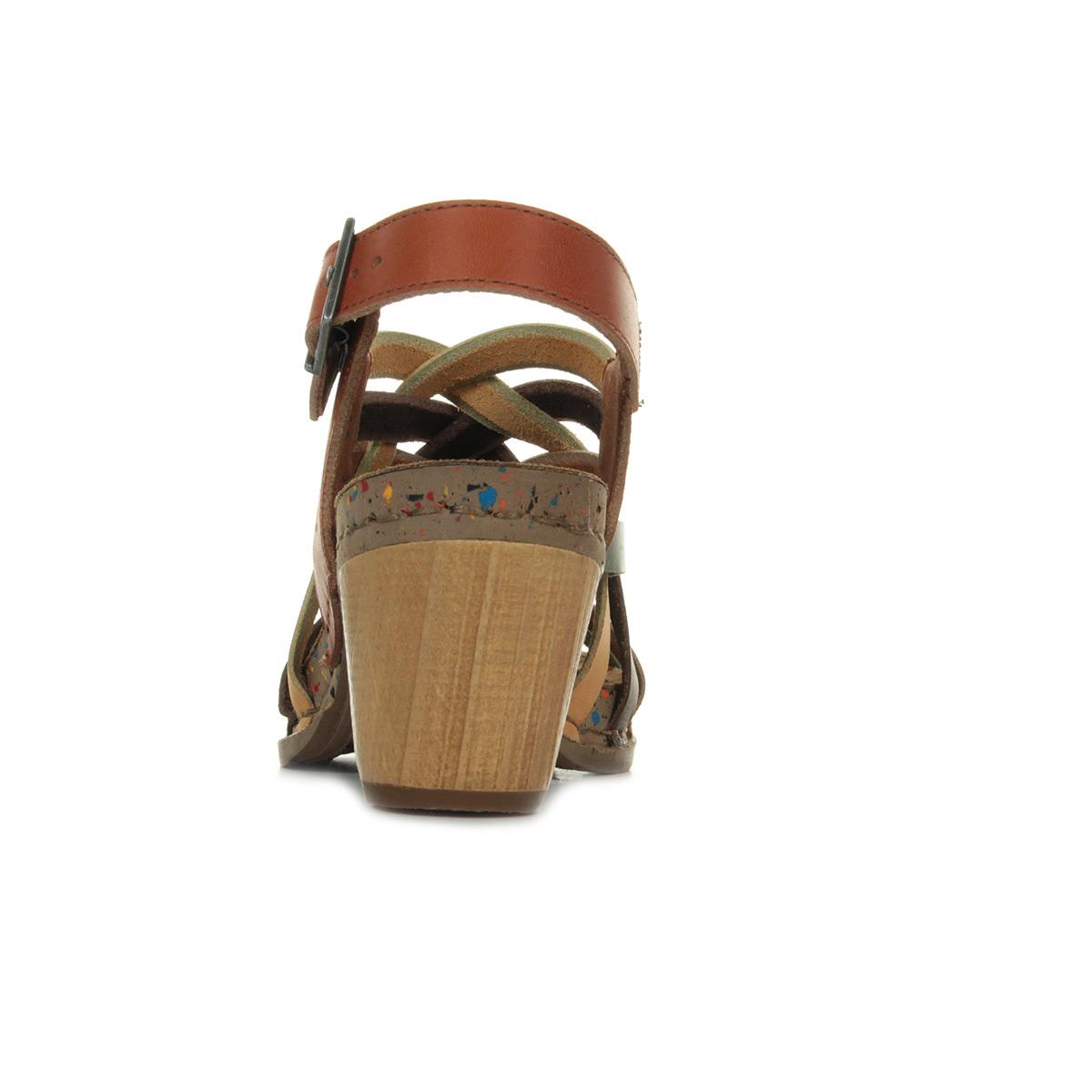 QIN&X Les Talons Talon Chaussures à Tête Ronde,37,l'abricot