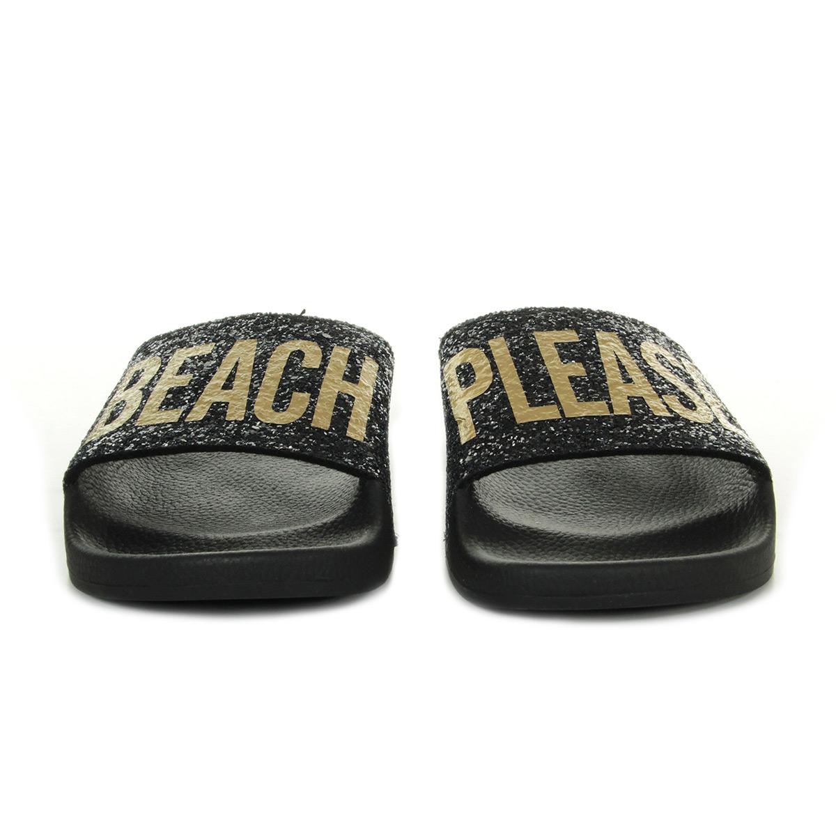 TheWhiteBrand Glitter Beach Please L0174, Sandales femme