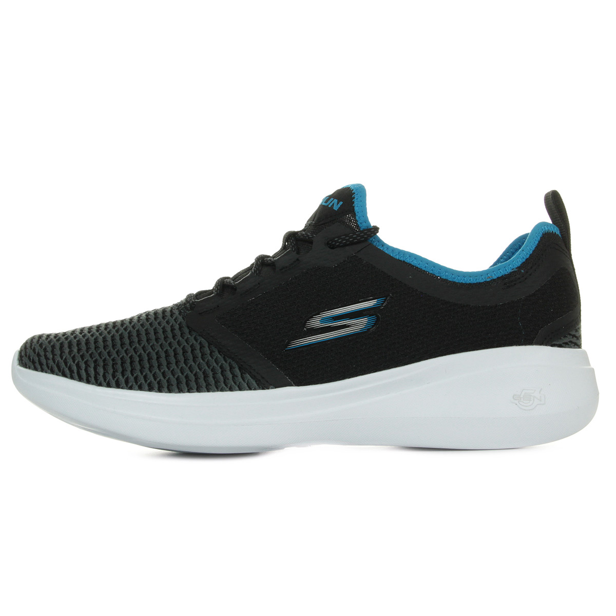 Skechers Go Run Fast 55100BKBL, Baskets mode homme