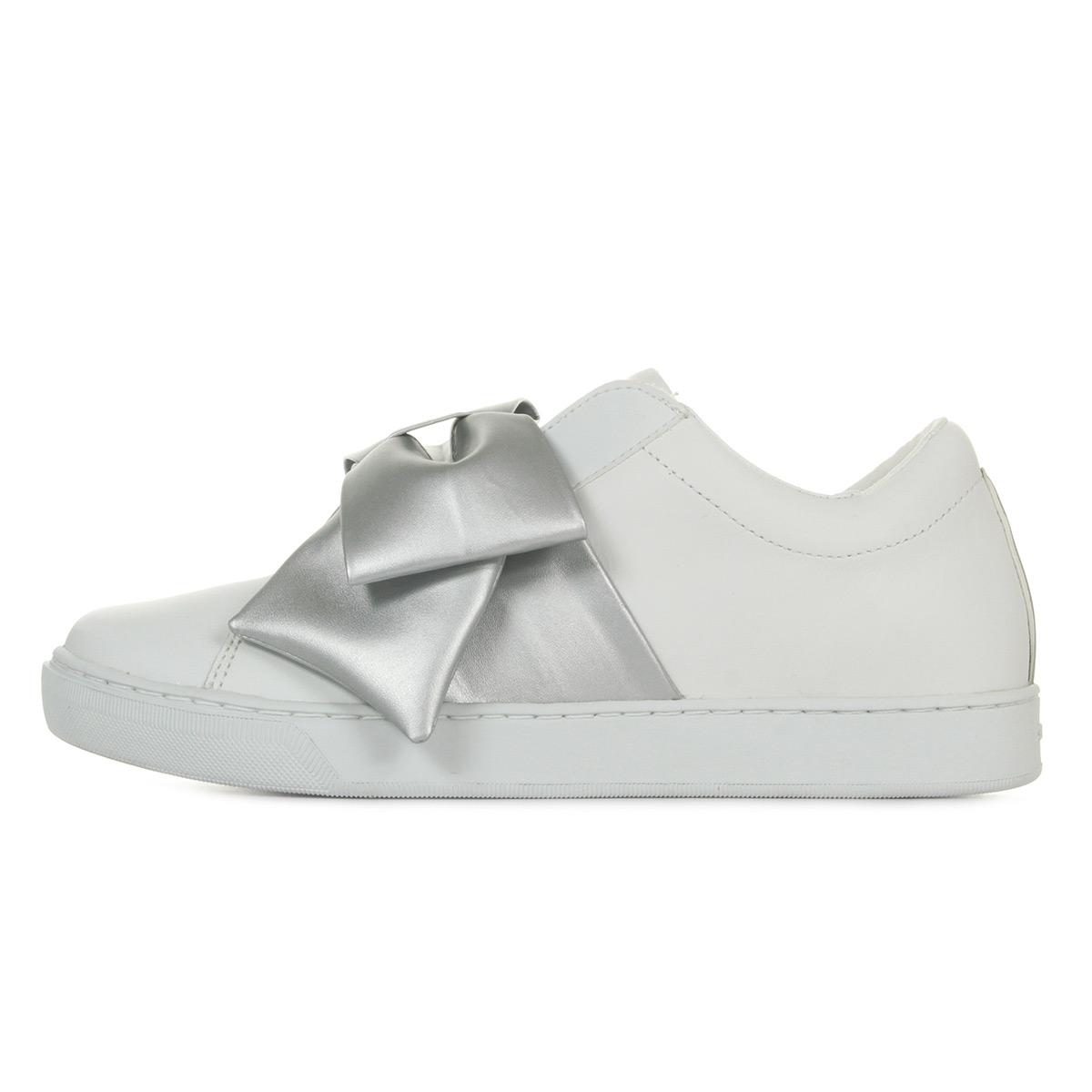 Skechers Prima Little Bow 73607WSL, Baskets mode femme