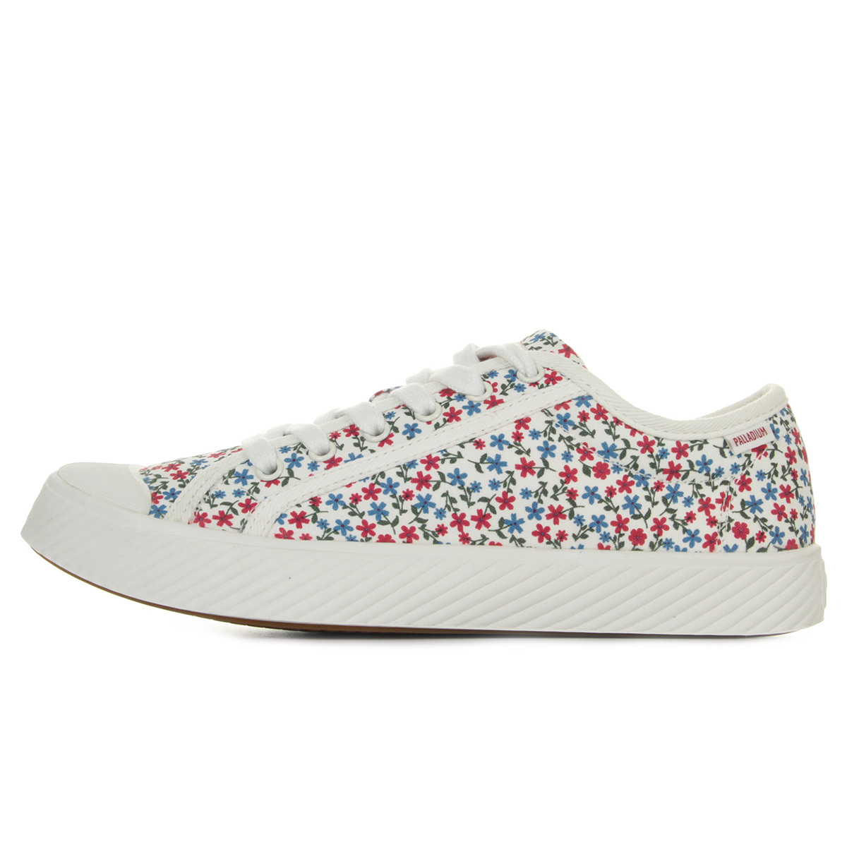 Palladium Pallaphoenix Canvas Marshmallow/ Barberry 75170L60, Baskets mode femme