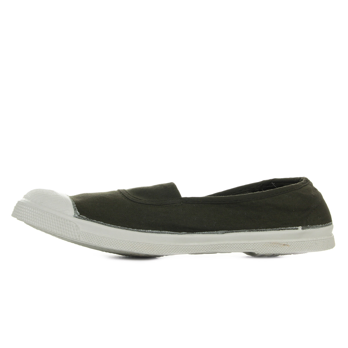 Bensimon Tennis Elastique Kaki F15002C15B612, Baskets mode femme