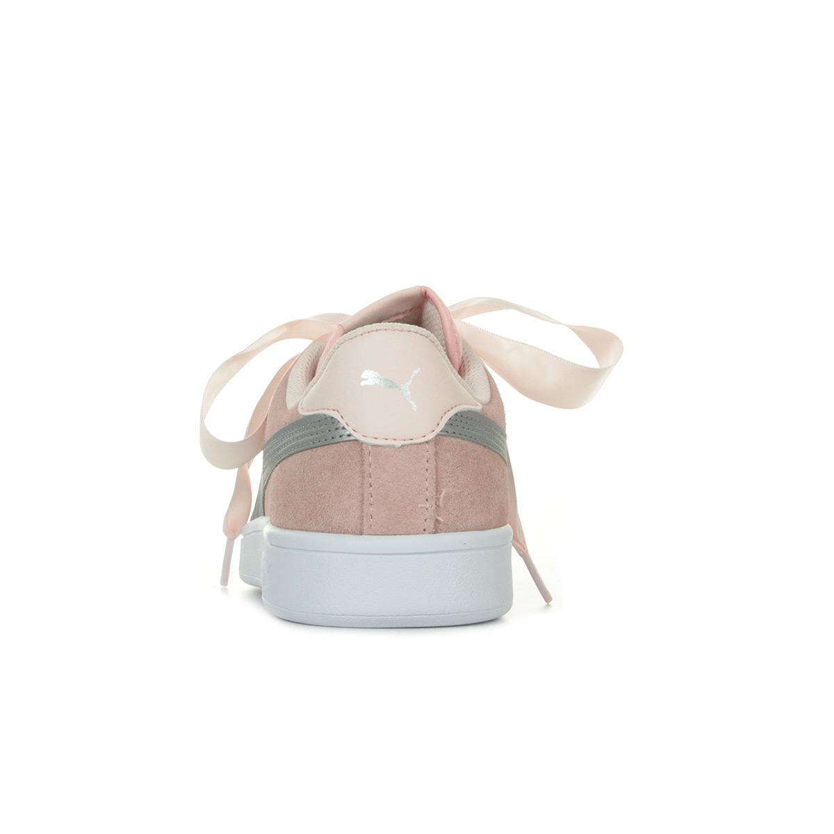 Puma Smash v2 Ribbon 36600302, Baskets mode femme