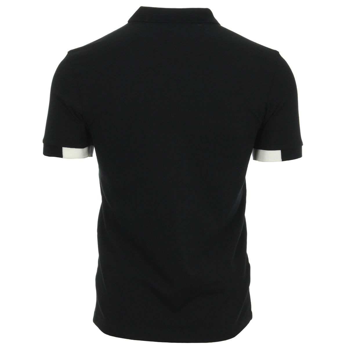 Fred Perry Block tipped Pique Shirt Black M4525102, Polos homme