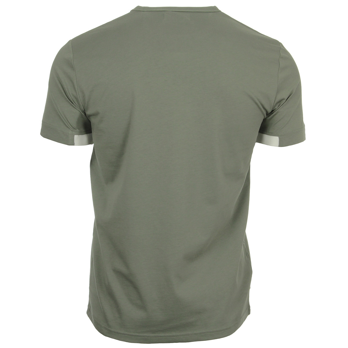 Fred Perry Chest Panel Tee Shirt Washing Khaki M4519402, T-Shirts homme