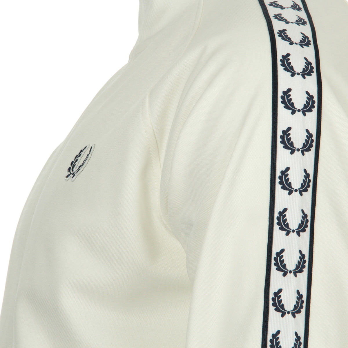 Fred Perry Taped Tack Jacket Snow White J6231303, Vestes sport homme