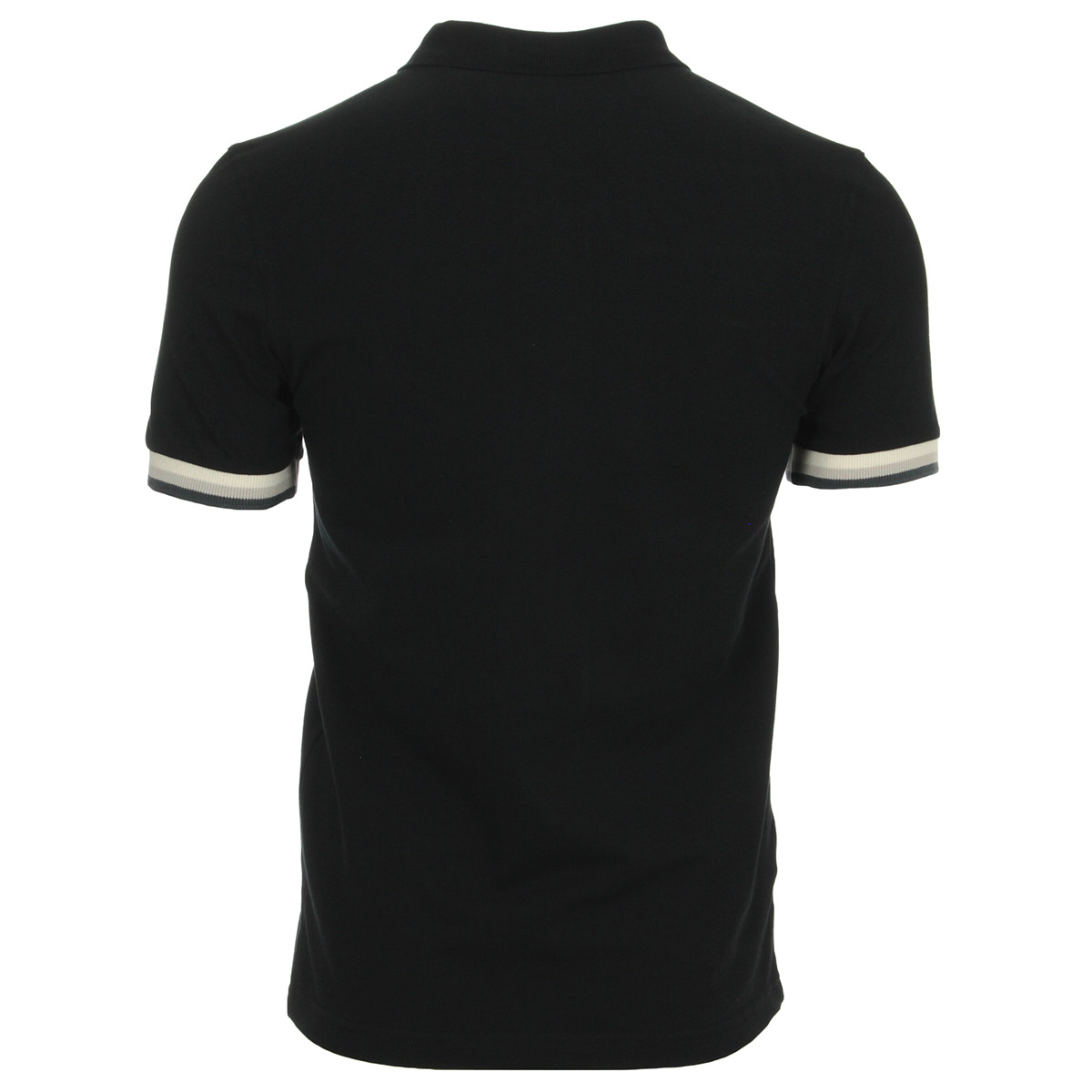 Fred Perry Colour Block Pique Shirt Black M4515102, Polos homme