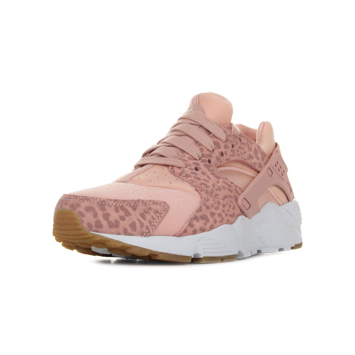 sports shoes 66028 5689f Chaussures Baskets Nike femme Huarache Run Run Run SE taille Rose Cuir    Durable   Exquis