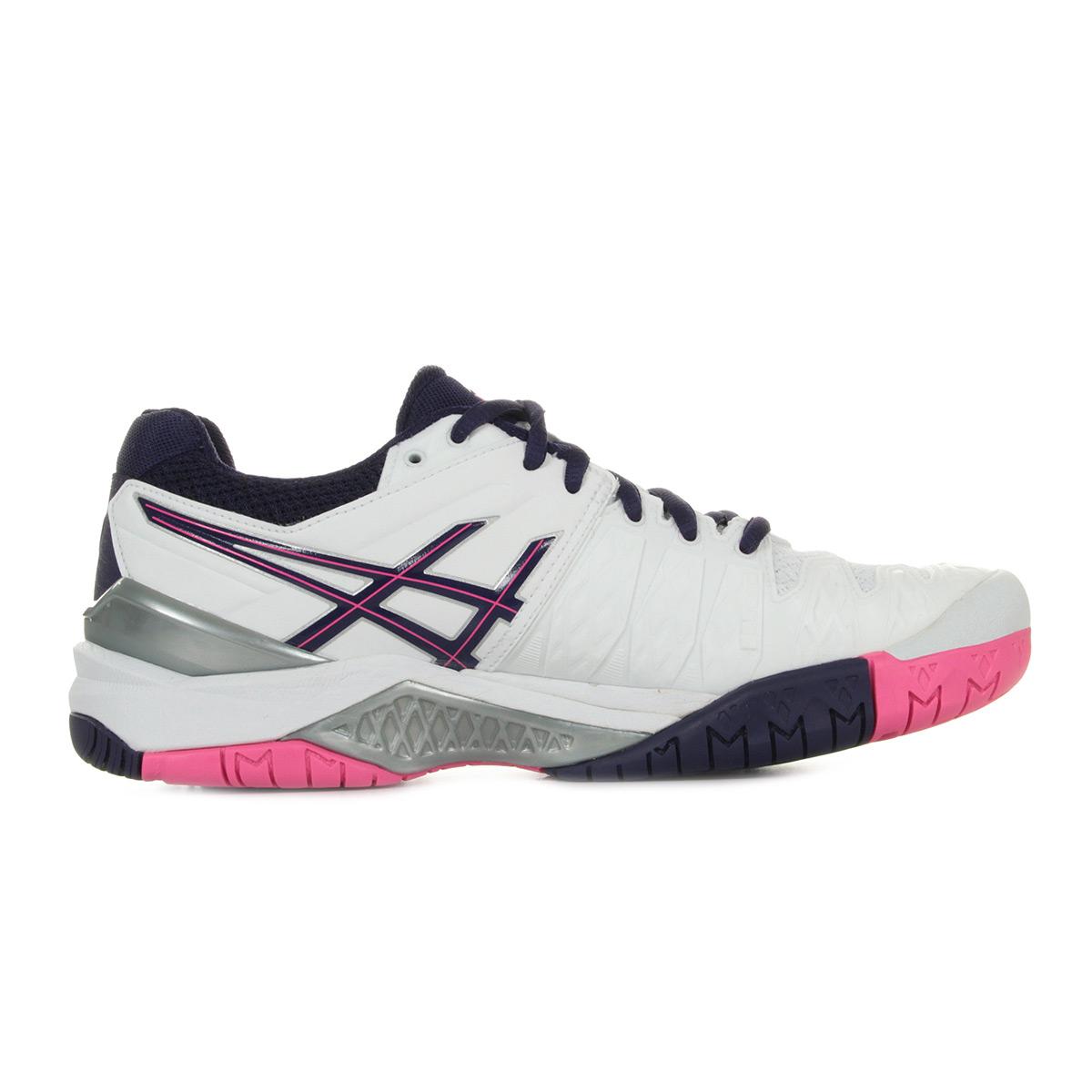 Asics Gel Resolution 6 E550Y0133, Tennis femme