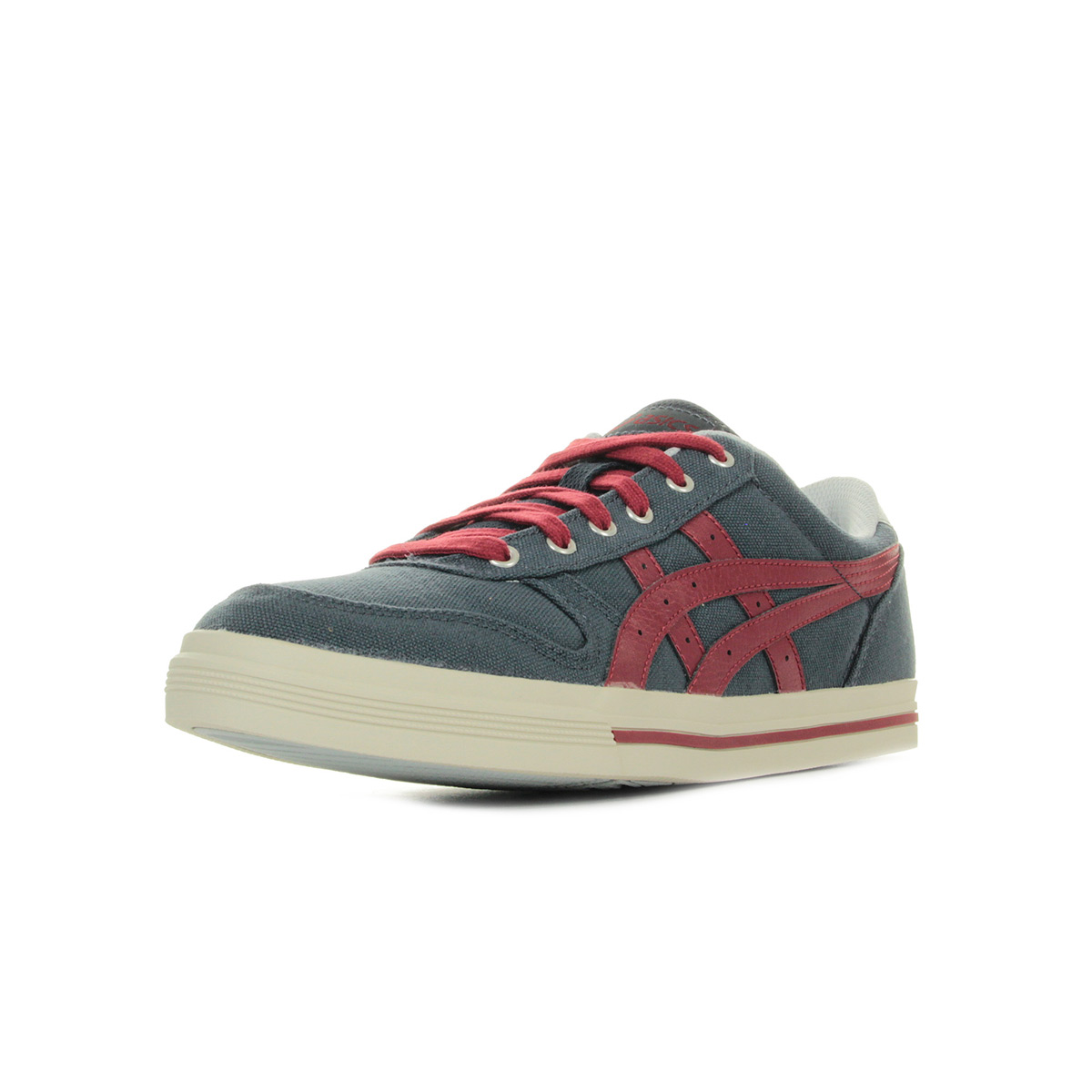 Chaussures Baskets Asics homme Aaron Indian Ink taille Bleu marine Bleue Textile