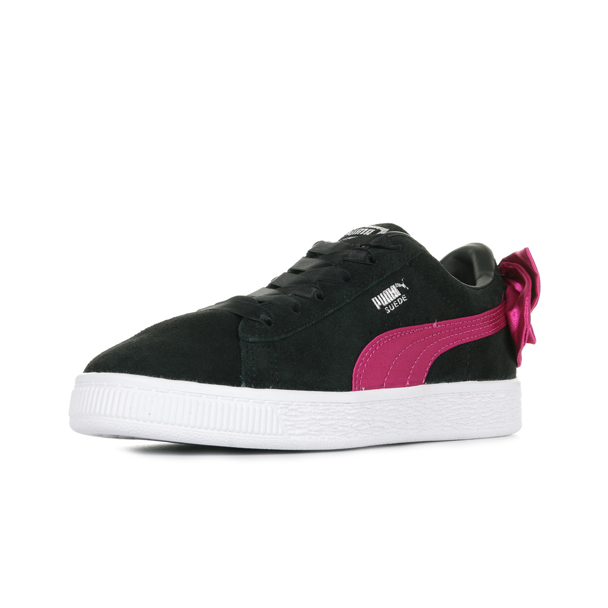 Puma Suede Bow AC PS 36731804, Baskets mode fille 0f26e680afb9