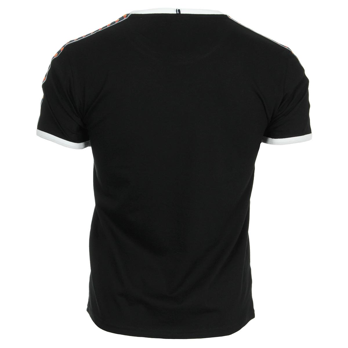 Ellesse T-Shirt EH TMC Homme Bande Noir 1031NBANDENOIR, T-Shirts homme