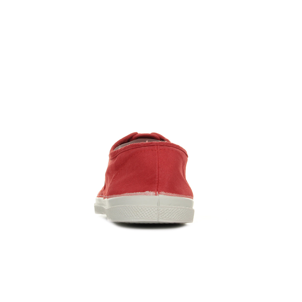 Bensimon Tennis Lacet Rouge F15004C15B310, Baskets mode femme